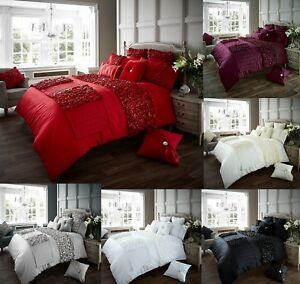 Amazing Verina Duvet Set Cover +Pillow Case Quilt Cover Bedding Set In All Sizes