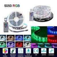 5m 10m 20m Wasserdicht RGB LED Stripe Streifen Leiste Band Leuchte Lichterkette