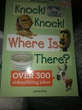KNOCK KNOCK WHERE IS THERE Book - Brand New