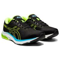 ASICS GEL PULSE 12 Scarpe Running Uomo Neutral BLACK HAZARD GREEN 1011A844 006