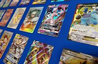 Official Pokemon Card Lot - 100 - V-MAX, V, EX, GX, BREAK -  GUARANTEED
