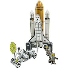 3D physical puzzle – NASA Space Shuttle, Atlantis, Challenger, space flight