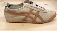 Onitsuka Tiger Mexico 66 Trainers Latte Meerkat Asics Leather Ship Worldwide
