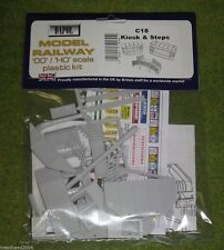 Dapol KIOSKS & STEPS 1/76 Scale scenery Kit 00/HO C018