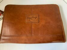 Rawlings Frankie Leather Portfolio Bag - Cognac new with tags. Never used.