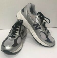 New Balance 498 Silver Athletic Shoes