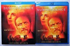 Brand New GIFT Ready Submergence Wim Wenders Grenzenlos Blu-Ray Alicia Vikander