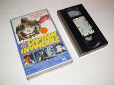 VHS Video ~ The Return of Captain Invincible ~ Large Case Ex-Rental~Pre-Cert~EIV