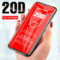 20D Curved Screen Protector Glass For IPhone XR XS Max X 7 8 6 Plus Tempered gla