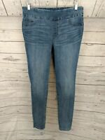 Chico's Pull-on Super Skinny Light Wash Denim Jegging Jeans - Chicos Size 1.5