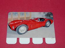 N°77 OSCA 1953 PLAQUE METAL COOP 1964 AUTOMOBILE A TRAVERS AGES