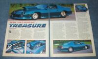 "1992 Chevy Camaro Z/28 Vintage Pro Street Article ""...Another Man's Treasure"""