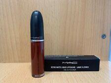 "NEW Original MAC - Retro Matte Liquid Lipstick ""CARNIVOROUS"""