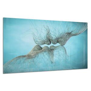 Tempered Glass Photo Print Wall Art Picture Love Kiss Abstract Prizma GWA0361