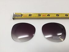 New Authentic Guess Replacement Lenses For Guess 7345 Sunglasses, Size 61-17-135