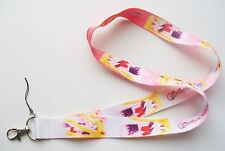 New Pretty Sailor Scout Sailor Moon Fabric Keychain Lanyard #2