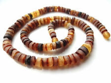 Baltic Amber Not polished men's chain Necklace !!!