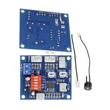12V PWM PC CPU Fan Temperature Control Speed Controller Module High Temp Alarm W