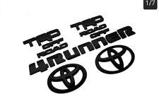 OEM TOYOTA 2014-2020 4runner Black out emblem Overlay Kit