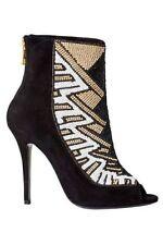 NEU Balmain H M  Leder Sandaletten 41 Schuhe Pumps High Heels H&M Soldout Shoes
