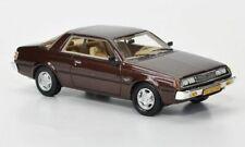 Mitsubishi Sapporo MkI Coupe, metallic-dunkelbraun, 1:43, Neo