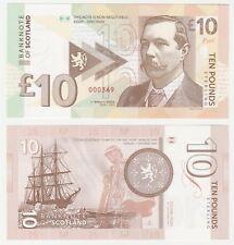 Scotland 10 Pounds 2017 UNC SPECIMEN Test Note Banknote - Sherlock Holmes Doyle