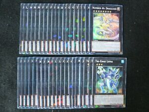 YU-GI-OH 40 CARD NUMBER 46: DRAGLUON / XYZ EXTRA DECK