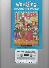 Wee Sing: Around the World 1994 Paperback and cassette over 60 minutes - NICE