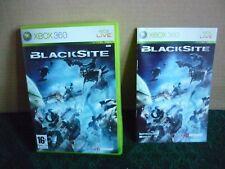 Blacksite XBox 360, PAL,UK, European, Microsoft Spine Code MW2 00701,PAL