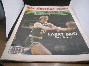 The Sporting News Newspaper February 9, 1980 Big in Boston Celtics' Larry Bird