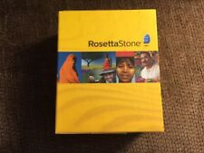 Rosetta Stone Italian Level 1 with 4-Disc Audio 2007 plus Keyboard and Headset