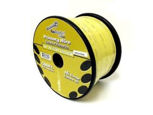 Pet Dog Fence Stranded Wire 16 GA 500 FT YELLOW In Ground Fence Burial Boundary