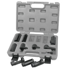 ATD Tools 11pc Oxygen Sensor and Sending Unit Socket Set W/ Case #5666