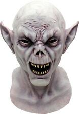 MEN'S DELUXE LATEX VAMPIRE MASK HORROR HALLOWEEN NOSFERATU COSTUME OVERHEAD NEW