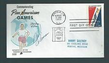 Phil Coleman signed cover US Middle & Long Distance Runner Won Gold 1959 Pan Am