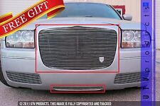 GTG 2005 - 2010 Chrysler 300 and 300C 2PC Polished Replacement Billet Grille Kit