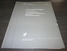 Schulungsunterlage Prüfprogramm ABS ASR Mercedes Benz LKW Stand Juli 1988