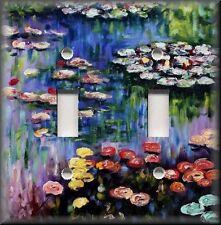 Metal Monet Art Light Switch Plate Cover Monet Art Water Lillie's Monet Decor