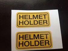 Honda Helmet Holder Reproduction Decal Cb750 Cb650 Cb550 Cb500 CX500 Cb450 Cb400
