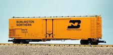 Usa Trains G Scale 50' Mechnical Reefer R16704 Burlington Northern - Yellow/Silv