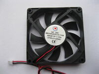 1 pcs Brushless DC Cooling Fan 9 Blade 24V 8015S 80x80x15mm 2wire Sleeve Bearing