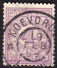 Netherlands 1884 NVPH Postbewijs 5 CANC VF