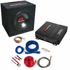 Renegade rbk550xl Sound Package with Cable Set Bass System Subwoofer Amplifier