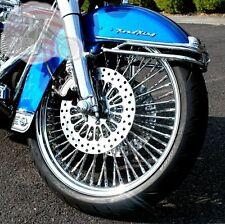 "21 x 3.5"" front wheel 18 x 4.25 rear Diamond mammoth harley softail 2000-2006"