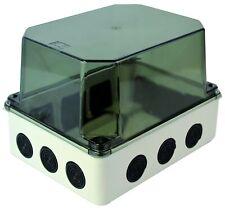 adattabili BOX Caravan agganciare RECINTO 7 vie. RCD recinto IP65 MCB