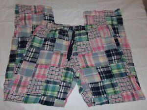 Boxercraft Mens Madras Lounge Pants Patchwork Pajama S Small