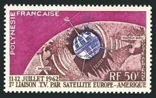 Fr Polynesia C29,lightly hinged.Michel 23. Telstar satellite,1962