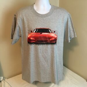 Vtg 2003 Chase Authentics T-Shirt Dale Earnhardt Jr NASCAR Schedule Medium NWT