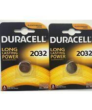 10 DURACELL DURALOCK DL2032 3V litio moneta cella BATTERIE CR2032 br2032