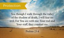 Pass Along Scripture Cards, Protection, Psalms 23:4, Pack 25